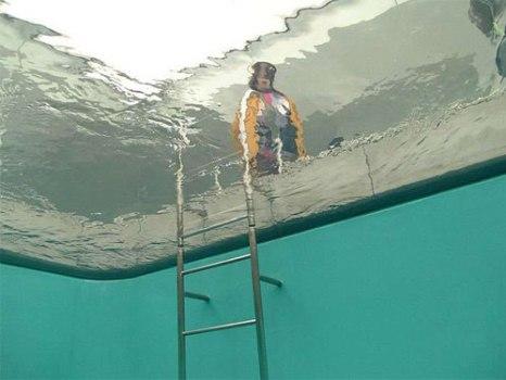 underwaterpool04 466x350 Fake Pool In Art Museum At Kanazawa สระว่ายนำ้นี้ไม่ธรรมดา!!