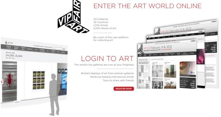 VIP online art fair ออนไลน์แสดงผลงานศิลปะผ่านทางอินเทอร์เน็ต และพูดคุยกับบรรดานักสะสมและตัวแทนจากแกเลอรี่ต่างๆผ่านทาง Skype หรือทาง MSN 16 - VIP online Art Fair