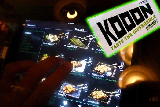 20120115011622 524x350 KOOON by IndiesKitchen ร้านอาหาร คูณ ความอร่อยและความสนุก เพิ่มขึ้นอีกเท่าตัวด้วย ระบบการสั่งอาหารผ่านแอพ ในเครื่อง Ipad