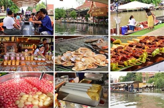 ตลาดนัดขวัญเรียม Kwan-Riam Floating Market 18 - Floating market