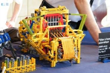 เครื่องทอผ้าจาก Lego 27 - Lego
