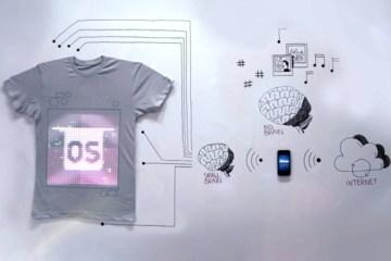 TshirtOS เสื้อยืดที่แสดงสถานะ หรือทวีต จากมือถือ ตัวแรกของโลก 17 - social media