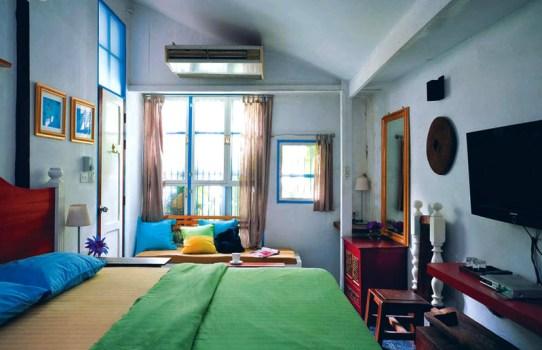 33566 5 542x350 Samsen 5 Lodge Bangkok บูติกหัวใจสีเขียว