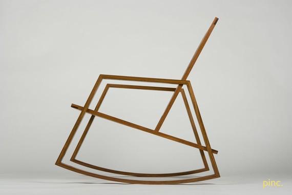 Minimalist Rocking Chair 3 - minimalist
