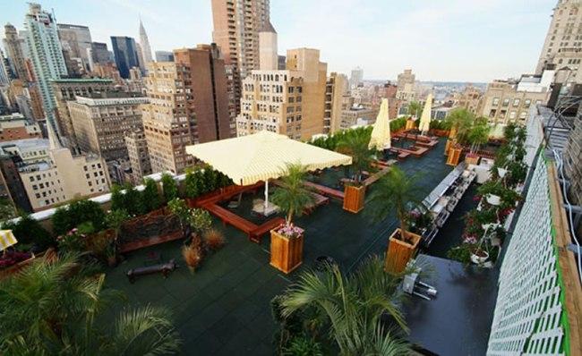 "Green on Rooftop Restaurant แนวคิดเรื่อง ""สวนครัวบนตึก ระฟ้า"" 21 - Rooftop Restaurant"