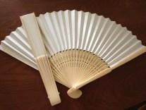 Use plain paper fans