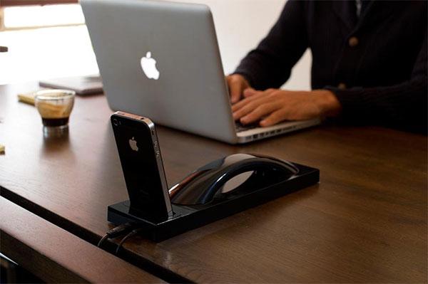 Moshi Bluetooth iPhone Dock...ให้คุณใช้งาน iPhone ได้แบบต่อเนื่องแม้จะยังอยู่ในแท่นชาร์ต 17 - gadget