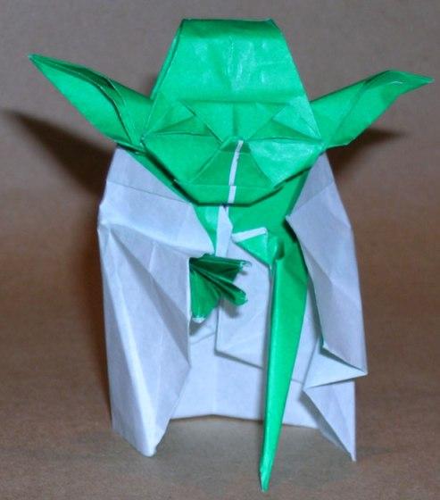 มาพับกระดาษ Origami เป็น Yoda กัน 15 - origami