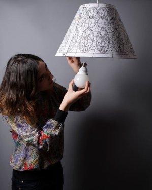 Paper lamp ที่สร้างสรรค์เองได้ 20 -