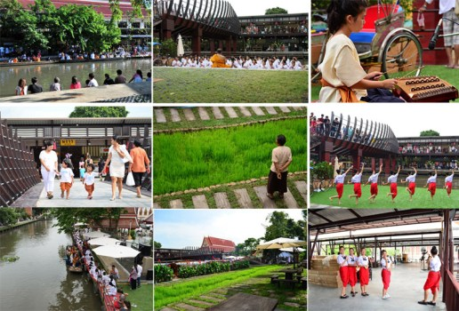 ตลาดนัดขวัญเรียม Kwan-Riam Floating Market 14 - Floating market