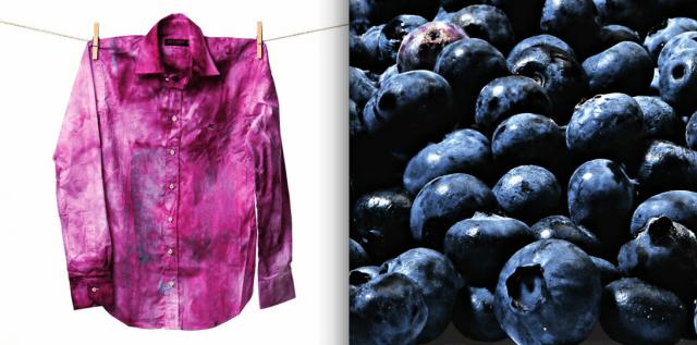 """DIY Part 1: Blueberry Shirt ย้อมเสื้อตัวเก่าสีขาว ให้เป็นสีม่วงตัวใหม่ด้วย """"บลูเบอร์รี่"""" 13 - DIY"""