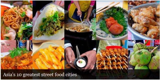 street food 550x277 Asias 10 Greatest Street Food Cities สุดยอดอาหารริมทาง ขอยกให้ กรุงเทพฯ