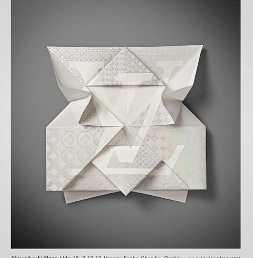 Louis Vuitton – Invitation Origami 16 - Osaka