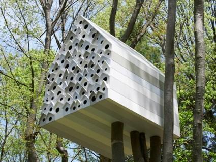 บ้านนก bird-apartment   3 - Apartment