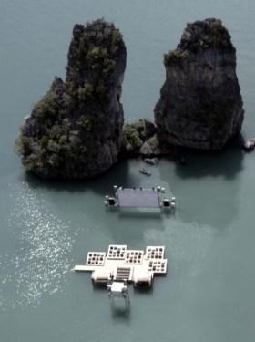 Floating cinema โรงหนังลอยน้ำที่เกาะยาวน้อย 4 - cinema
