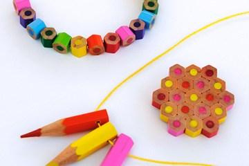 DIY.jewelry จากดินสอสีไม้ 23 - color
