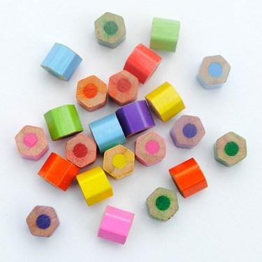crayon beads 2 570 375x375 DIY.jewelry จากดินสอสีไม้