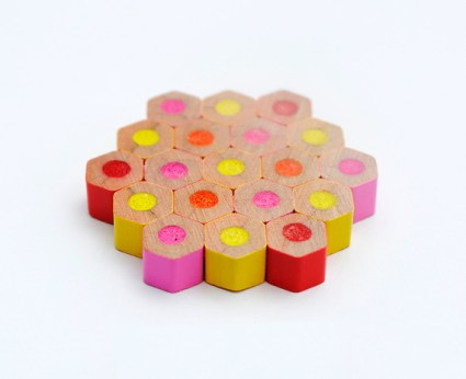 crayon beads 4 570 425x346 DIY.jewelry จากดินสอสีไม้