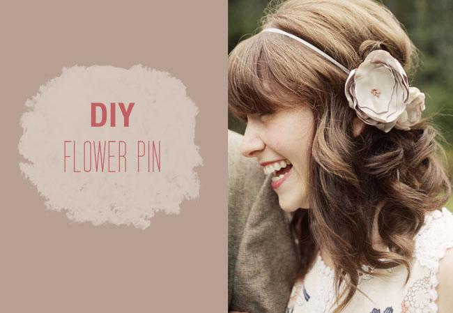 DIY: FLOWER PIN 13 - DIY