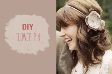 DIY: FLOWER PIN