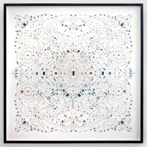ศิลปะจากไอซีวงจรคอมพิวเตอร์ 14 - Mandala