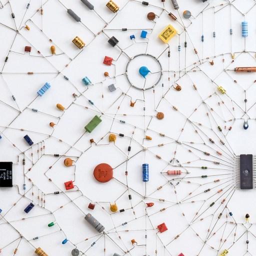 ศิลปะจากไอซีวงจรคอมพิวเตอร์ 15 - Mandala