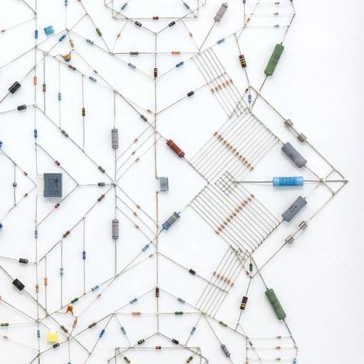 ศิลปะจากไอซีวงจรคอมพิวเตอร์ 16 - Mandala