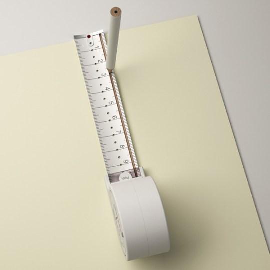 ไอเดียออกแบบฉลาดๆ ทำสายวัด ให้เป็นวงเวียนด้วย 15 -