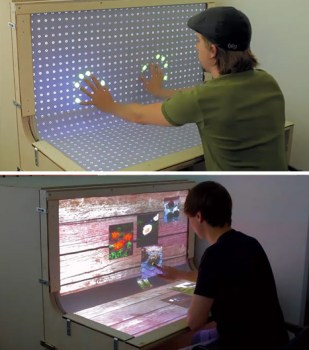 Futuristic Desktop: 3D Multi-Touch Computer + Desk Design 17 -