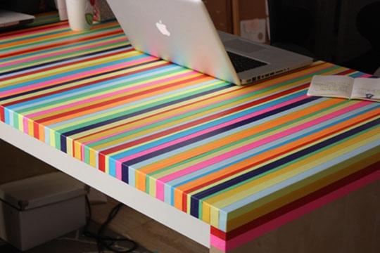 3ไอเดีย DIY ทำโต๊ะใหม่จากของเก่า 13 - รีไซเคิล