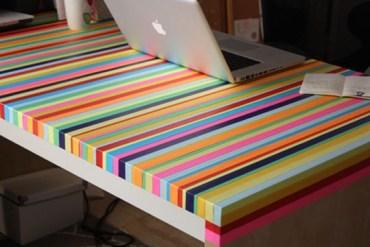 3ไอเดีย DIY ทำโต๊ะใหม่จากของเก่า 23 - DIY