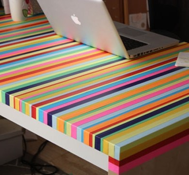3ไอเดีย DIY ทำโต๊ะใหม่จากของเก่า 15 - รีไซเคิล