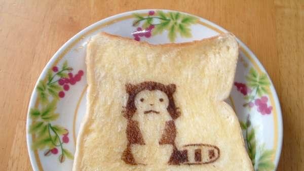 25551017 100535 DIY สร้างสรรค์ภาพการ์ตูนบนขนมปัง..ง่ายๆจากฟลอยห่ออาหาร