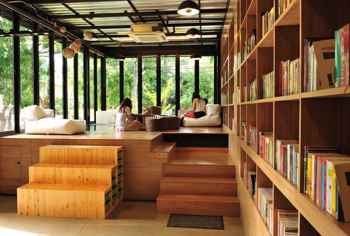 LIBRARISTA Chiang-Mai ห้องสมุดใจกลางเมืองเชียงใหม่ +พร้อมกาแฟแคปซูล 13 - Chiang-Mai