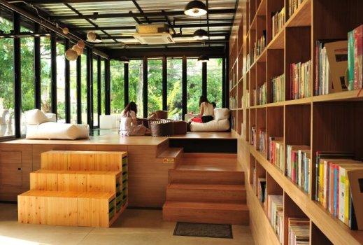 LIBRARISTA Chiang-Mai ห้องสมุดใจกลางเมืองเชียงใหม่ +พร้อมกาแฟแคปซูล 16 - Chiang-Mai