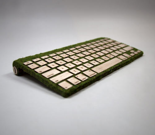 Natural Keyboard เมื่อเทคโนโลยีมาพบกับธรรมชาติ 13 - wireless