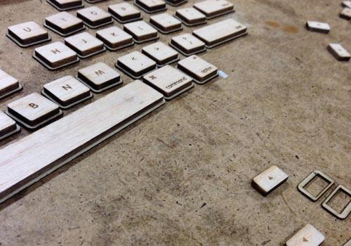 Natural Keyboard เมื่อเทคโนโลยีมาพบกับธรรมชาติ 18 - Keyboard