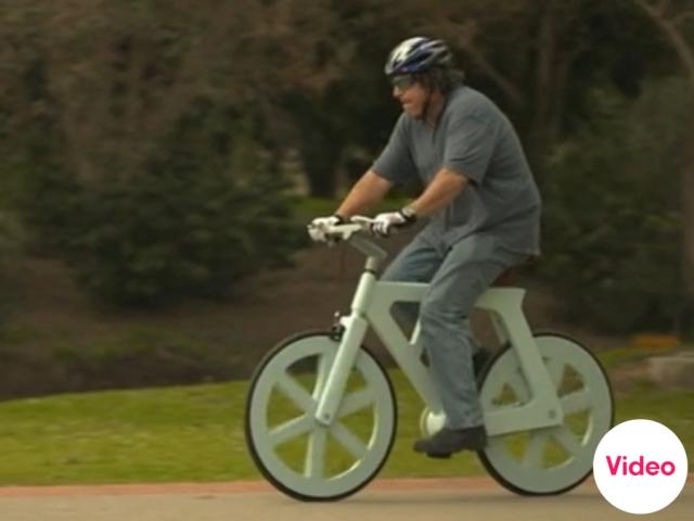จักรยานกระดาษขี่ได้จริง  13 - cardboard