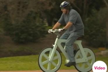 จักรยานกระดาษขี่ได้จริง  30 - paper