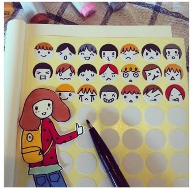 IG:ngingi สอนวาดการ์ตูนฝีมือคนไทย 17 - cartoon