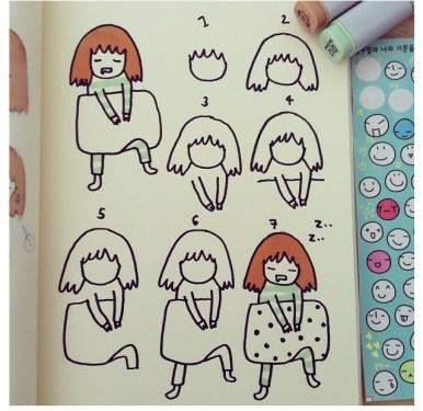 IG:ngingi สอนวาดการ์ตูนฝีมือคนไทย 15 - cartoon