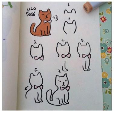 IG:ngingi สอนวาดการ์ตูนฝีมือคนไทย 16 - cartoon