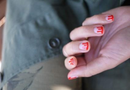 DIY.drippy nail ต้อนรับฮาโลวีน 19 - DIY