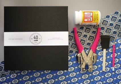 shoebox1 425x294 DIY.กล่องใส่ริบบ้ิน