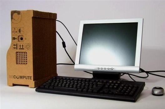 Cardborad PC หุ้มกระดาษแข็ง 14 - Green