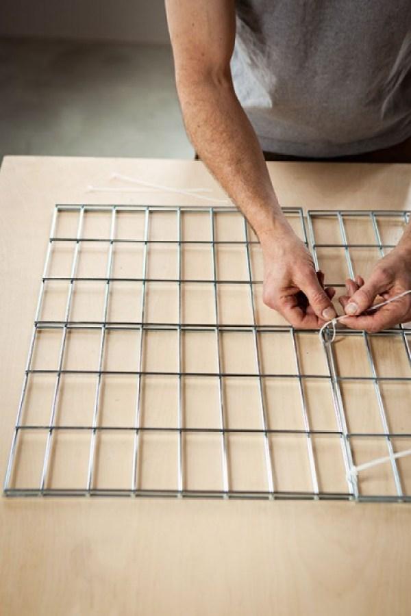 101685558 web DIY coffee table จากแผงลวด