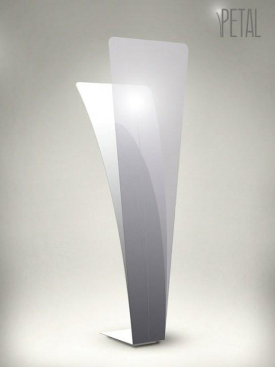 25551103 174607 Petal Lamp..โคมไฟ แรงบันดาลใจจากธรรมชาติ