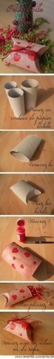 25551110 201354 DIY กล่องของขวัญจากแกนทิชชู
