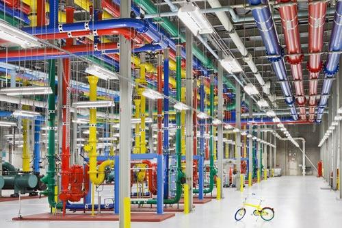 มีอะไรในกล่องดวงใจของ GOOGLE ...ไปดู DATA CENTERS ของGoogle กัน 13 - data center
