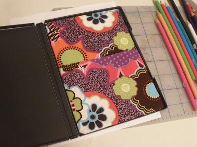 25551123 181131 DIY กล่องดินสอสี จากกล่อง DVD เก่า